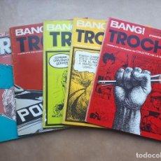 Cómics: BANG! EXTRA - TROCHA / TROYA - NÚMEROS 1 2 5 6 7. Lote 257289050