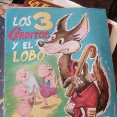 Comics: LOS 3 TRES CERDITOS Y EL LOBO, GRANDES ALBUMES EVA Nº 6, 1962. Lote 257706170
