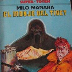 Cómics: MILO MANARA--EL MONJE DEL TIBET. Lote 257711030
