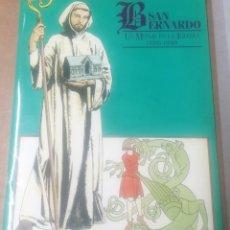 Cómics: COMIC. SAN BERNARDO. UN MONJE EN LA IGLESIA (1090-1990), STRASBOURG, 1990. Lote 257728305