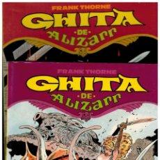 Cómics: GHITA DE ALIZARR. TOMOS 1 Y 2. COMPLETA. FRANK THORNE. TOUTAIN. NUEVOS.. Lote 257861205