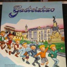 Cómics: CÓMIC GASTEIZTXO EN EUSKERA VITORIA GASTEIZ HISTORIA CONTADA DE FORMA DIVERTIDA. Lote 258129830