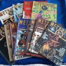 Comics: METROPOL. COLECCIÓN COMPLETA DE 12 NÚMEROS. Lote 258133185