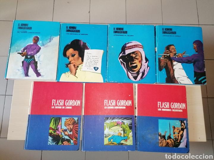 Cómics: Lote HÉROES DEL CÓMIC. EL HOMBRE ENMASCARADO + FLASH GORDON - BURU LAN. 1972 - Foto 2 - 258173660