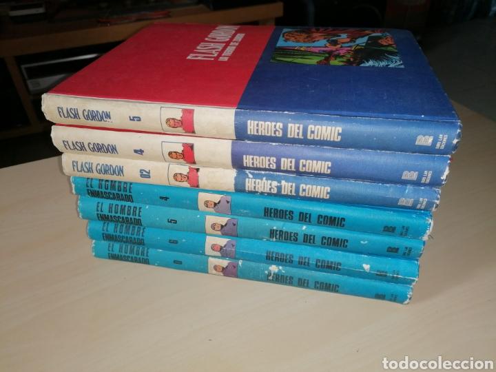 LOTE HÉROES DEL CÓMIC. EL HOMBRE ENMASCARADO + FLASH GORDON - BURU LAN. 1972 (Tebeos y Comics - Comics Colecciones y Lotes Avanzados)