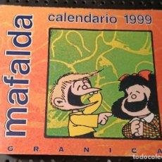 Cómics: LIBRO MAFALDA CALENDARIO 1999. Lote 258500270