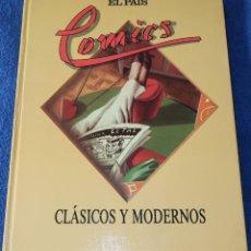 Cómics: COMICS CLÁSICOS Y MODERNOS - JAVIER COMA - EL PAIS (1988). Lote 259708670