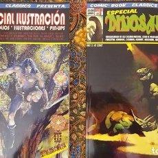 Cómics: COMIC-BOOK CLASSICS PRESENTA (PACK OFERTA): EXTRAS #2 & 3 ESPECIALES ILUSTRACIÓN & DINOSAURIOS. Lote 259717350
