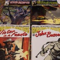 Cómics: COMIC-BOOK CLASSICS PRESENTA (PACK OFERTA): EXTRAS 2 Y 3 & MAESTROS DE MAESTROS 1 Y 2. Lote 259719175