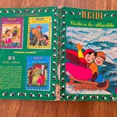 Comics : ¡¡LIQUIDACION TEBEO 1 EURO!! PEDIDO MINIMO 5 EUROS - HEIDI 3 - VISITA A LA ABUELITA - GCH. Lote 260658040