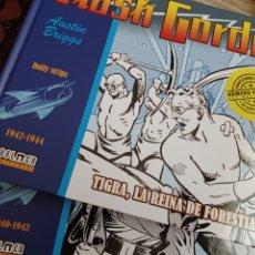 Cómics: FLASH GORDON, 2 VOL DAILY STRIPS 1940/1944 DOLMEN. Lote 261113665