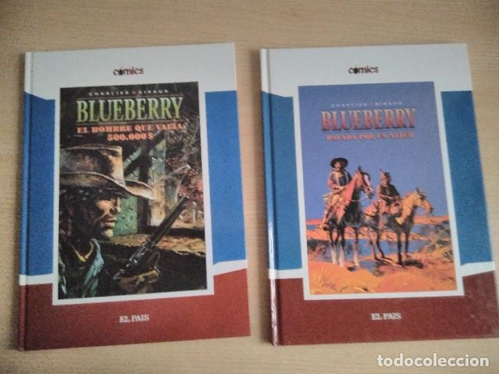 BLUEBERRY BALADA POR UN ATAÚD - EL HOMBRE QUE VALÍA 500.00 $. CÓMICS EL PAÍS, NÚMS. 8 Y 9 (2005) (Tebeos y Comics Pendientes de Clasificar)