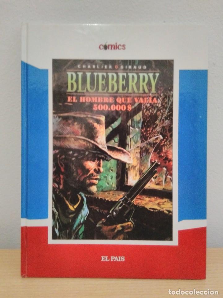 Cómics: BLUEBERRY Balada por un ataúd - El hombre que valía 500.00 $. Cómics El País, Núms. 8 y 9 (2005) - Foto 2 - 261121260