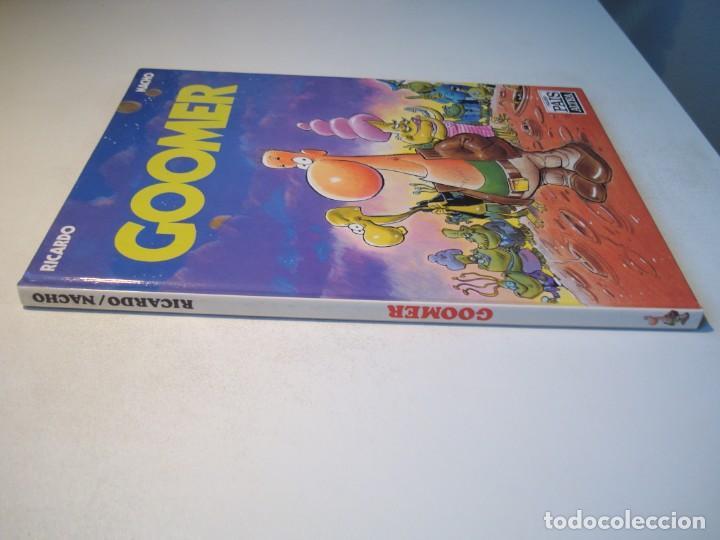 Cómics: GOOMER - RICARDO / NACHO - PEQUEÑO PAÍS ALTEA 1990 - Foto 2 - 261122105