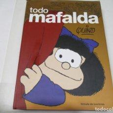 Cómics: QUINO TODO MAFALDA W6923. Lote 261166890