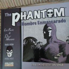 Cómics: PHANTHOM, DAILY STRIPS 1936-1937. DOLMEN. Lote 261254315