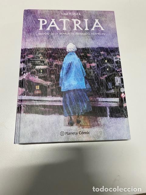 """COMIC """"PATRIA"""" DE TONI FEJZULA.BASADO EN LA NOVELA DE F. ARAMBURU.(4,31 ENVÍO CERTIFICADO) (Tebeos y Comics Pendientes de Clasificar)"""