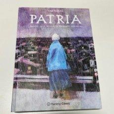 "Cómics: COMIC ""PATRIA"" DE TONI FEJZULA.BASADO EN LA NOVELA DE F. ARAMBURU.(4,31 ENVÍO CERTIFICADO). Lote 261300960"
