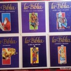 Cómics: DESCUBRIR LA BIBLIA - 8 TOMOS COMPLETA - VICTOR DE LA FUENTE,SERPIERI.BIELSA,. Lote 261362510