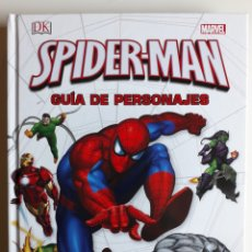 Cómics: SPIDERMAN GUÍA DE PERSONAJES. TOMO CARTONE 208 PÁGINAS. EXCELENTE ESTADO. Lote 261822355