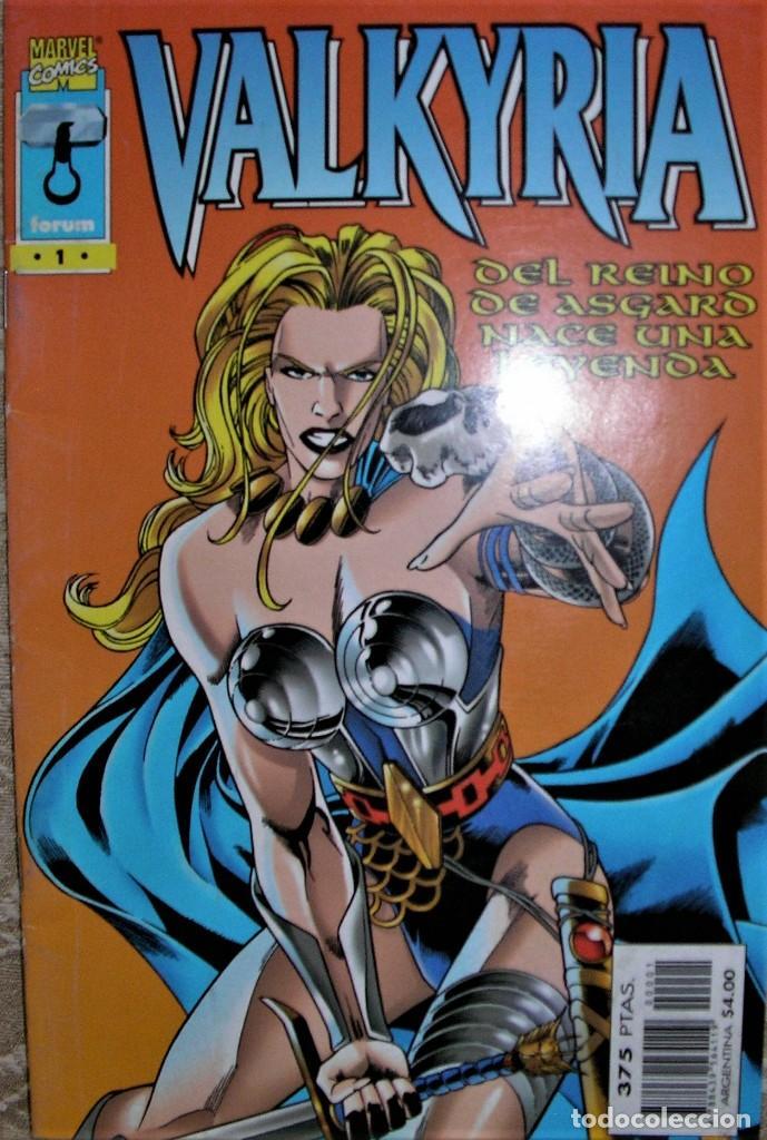 VALKYRIA DEL REINO DE ASGARD (Tebeos y Comics - Comics Colecciones y Lotes Avanzados)