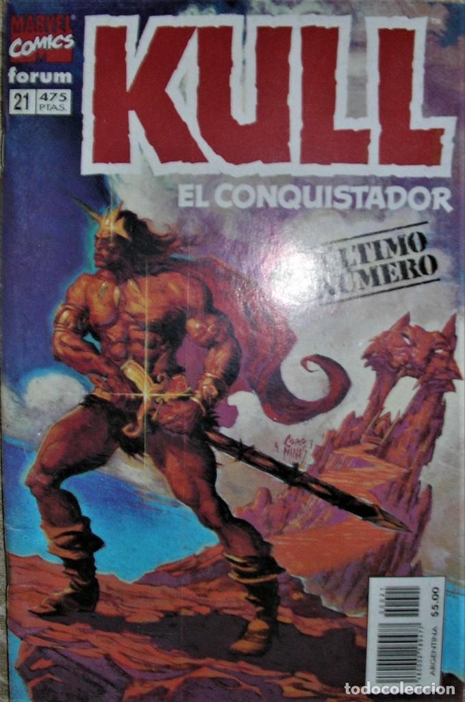 KULL EL CONQUISTADOR (Tebeos y Comics - Comics Colecciones y Lotes Avanzados)