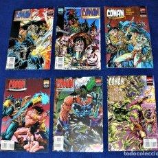 Cómics: CONAN COMICS Nº 2,3,4,6,7 Y 9. Lote 262240735