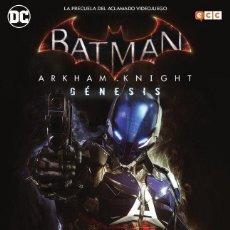 Cómics: BATMAN. ARKHAM KNIGHT. GENESIS. OBRA COMPLETA 144 PAGINAS. Lote 262278665