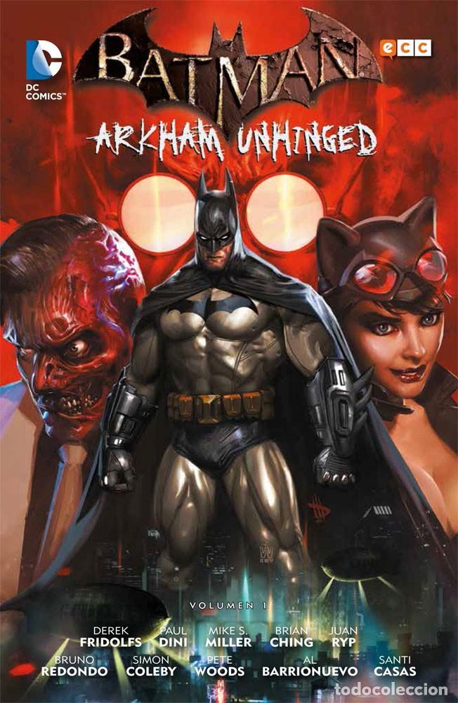 BATMAN ARKHAM UNHINGED OBRA COMPLETA : 4 TOMOS. 730 PAGINAS (Tebeos y Comics - Comics otras Editoriales Actuales)