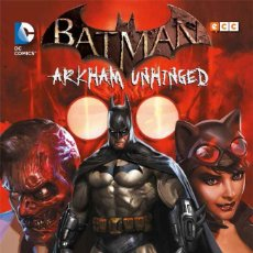 Cómics: BATMAN ARKHAM UNHINGED OBRA COMPLETA : 4 TOMOS. 730 PAGINAS. Lote 262280350