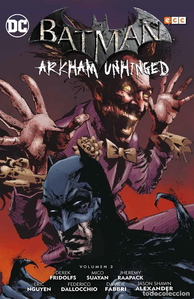 Cómics: BATMAN ARKHAM UNHINGED OBRA COMPLETA : 4 TOMOS. 730 PAGINAS - Foto 2 - 262280350