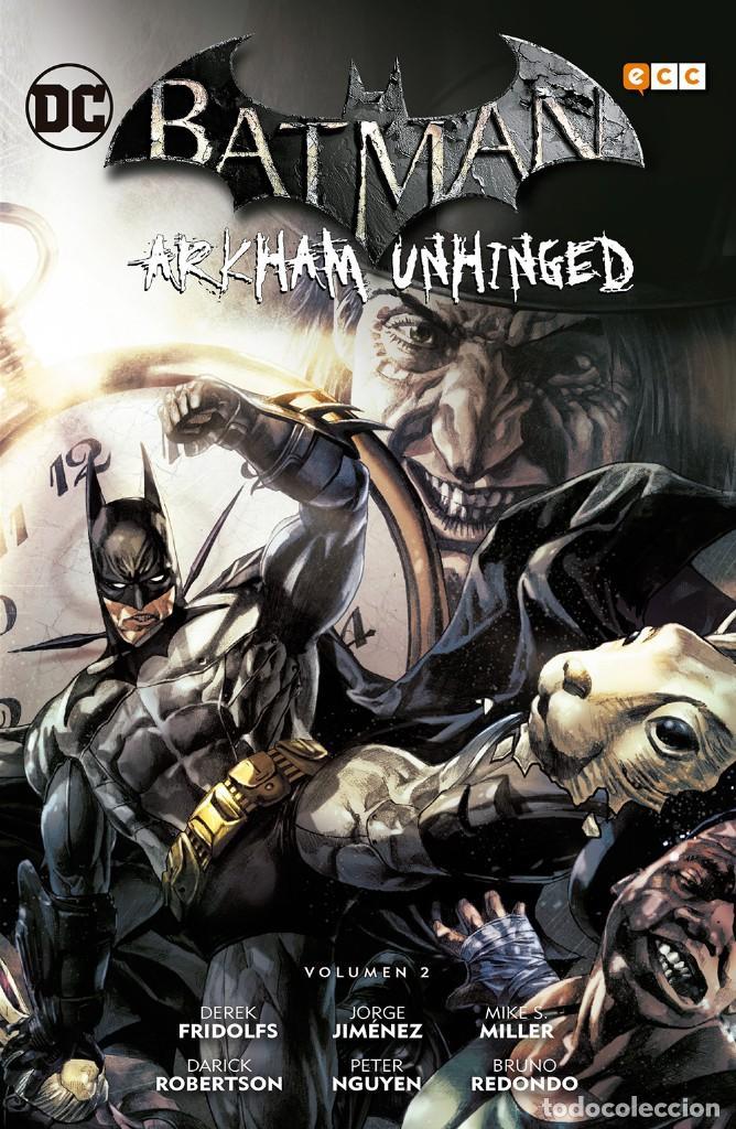 Cómics: BATMAN ARKHAM UNHINGED OBRA COMPLETA : 4 TOMOS. 730 PAGINAS - Foto 4 - 262280350