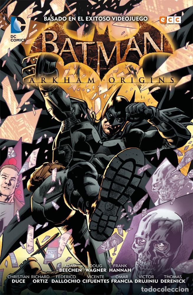 BATMAN ARKHAM ORIGINS. ECC. 160 PAGINAS (Tebeos y Comics - Comics otras Editoriales Actuales)