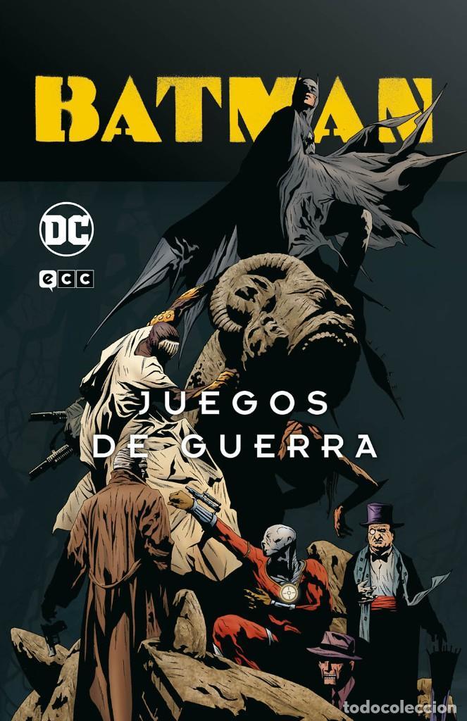BATMAN JUEGOS DE GUERRA. INTEGRAL. 648 PAGINAS. ECC. TAPA DURA (Tebeos y Comics - Comics otras Editoriales Actuales)