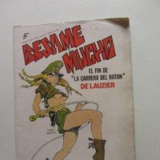 Cómics: BESAME MUCHO Nº 5 - PRODUCCIONES EDITORIALES ARX96. Lote 262287775