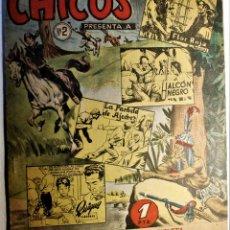 Cómics: CHICOS, EDITORIAL CID 1954, NÚMERO 2 ORIGINAL. Lote 262287820