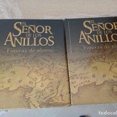 Cómics: J EL SEÑOR DE LOS ANILLOS FIGURAS DE PLOMO (FASCICULOS 1 A 60 EN 2 CAJAS Y POSTER DE LA TIERRA MEDIA. Lote 262289415