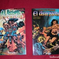 Cómics: CONAN EL BÁRBARO EN DOS TOMOS. Lote 262352320