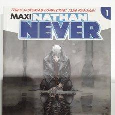Cómics: MAXI NATHAN NEVER 1 (UNIVERSOS INFINITOS, NETWORK, SEÑALES DEL ESPACIO) - ALETA - REBAJADO. Lote 295859993