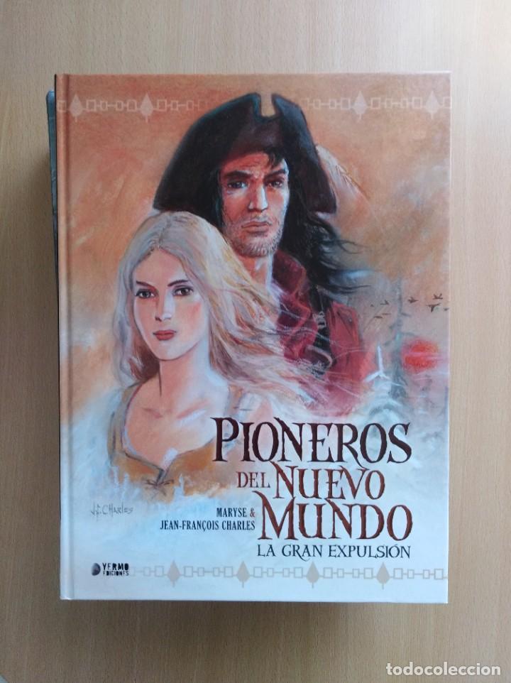 PIONEROS DEL NUEVO MUNDO 1-2-3-4-5 COMPLETA. MARYSE /JEAN-FRANÇOIS CHARLES/ERSEL (Tebeos y Comics - Comics otras Editoriales Actuales)