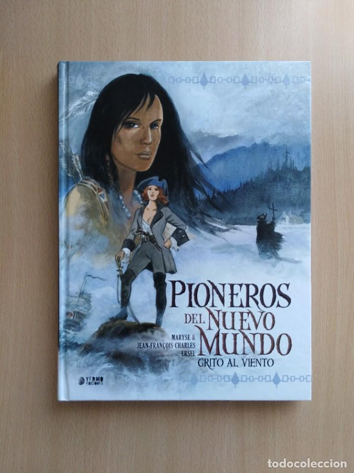 Cómics: PIONEROS DEL NUEVO MUNDO 1-2-3-4-5 COMPLETA. Maryse /Jean-François Charles/Ersel - Foto 3 - 262553370