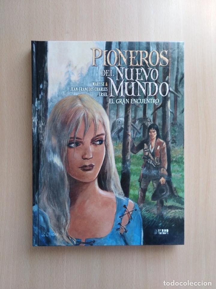 Cómics: PIONEROS DEL NUEVO MUNDO 1-2-3-4-5 COMPLETA. Maryse /Jean-François Charles/Ersel - Foto 6 - 262553370