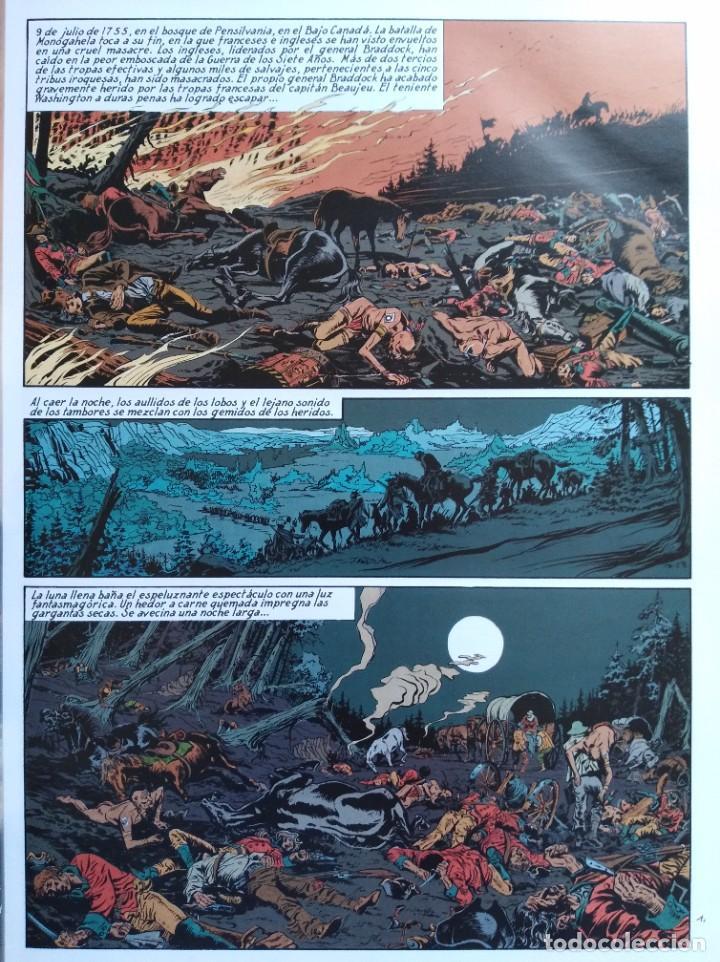 Cómics: PIONEROS DEL NUEVO MUNDO 1-2-3-4-5 COMPLETA. Maryse /Jean-François Charles/Ersel - Foto 7 - 262553370