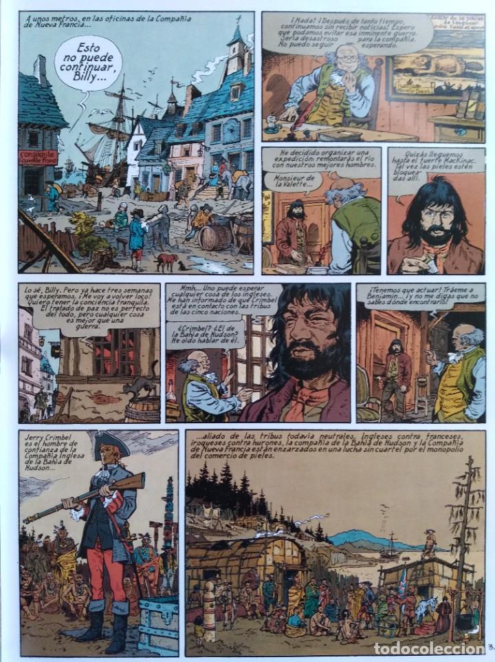 Cómics: PIONEROS DEL NUEVO MUNDO 1-2-3-4-5 COMPLETA. Maryse /Jean-François Charles/Ersel - Foto 8 - 262553370