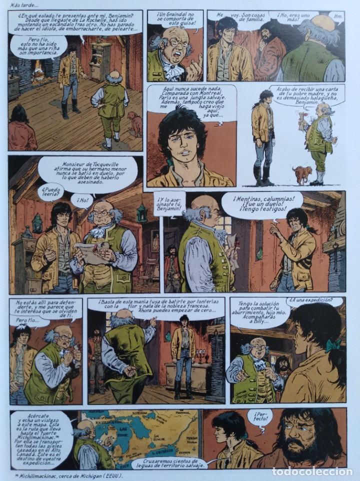 Cómics: PIONEROS DEL NUEVO MUNDO 1-2-3-4-5 COMPLETA. Maryse /Jean-François Charles/Ersel - Foto 9 - 262553370