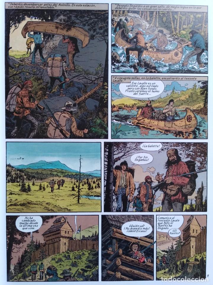 Cómics: PIONEROS DEL NUEVO MUNDO 1-2-3-4-5 COMPLETA. Maryse /Jean-François Charles/Ersel - Foto 10 - 262553370