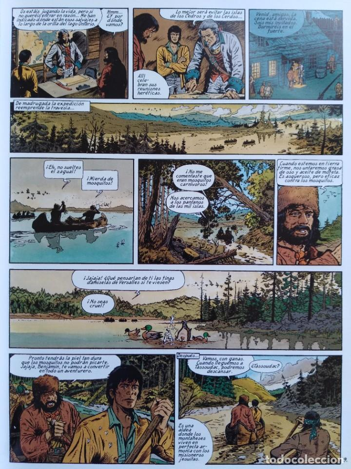 Cómics: PIONEROS DEL NUEVO MUNDO 1-2-3-4-5 COMPLETA. Maryse /Jean-François Charles/Ersel - Foto 11 - 262553370