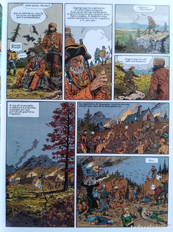 Cómics: PIONEROS DEL NUEVO MUNDO 1-2-3-4-5 COMPLETA. Maryse /Jean-François Charles/Ersel - Foto 12 - 262553370