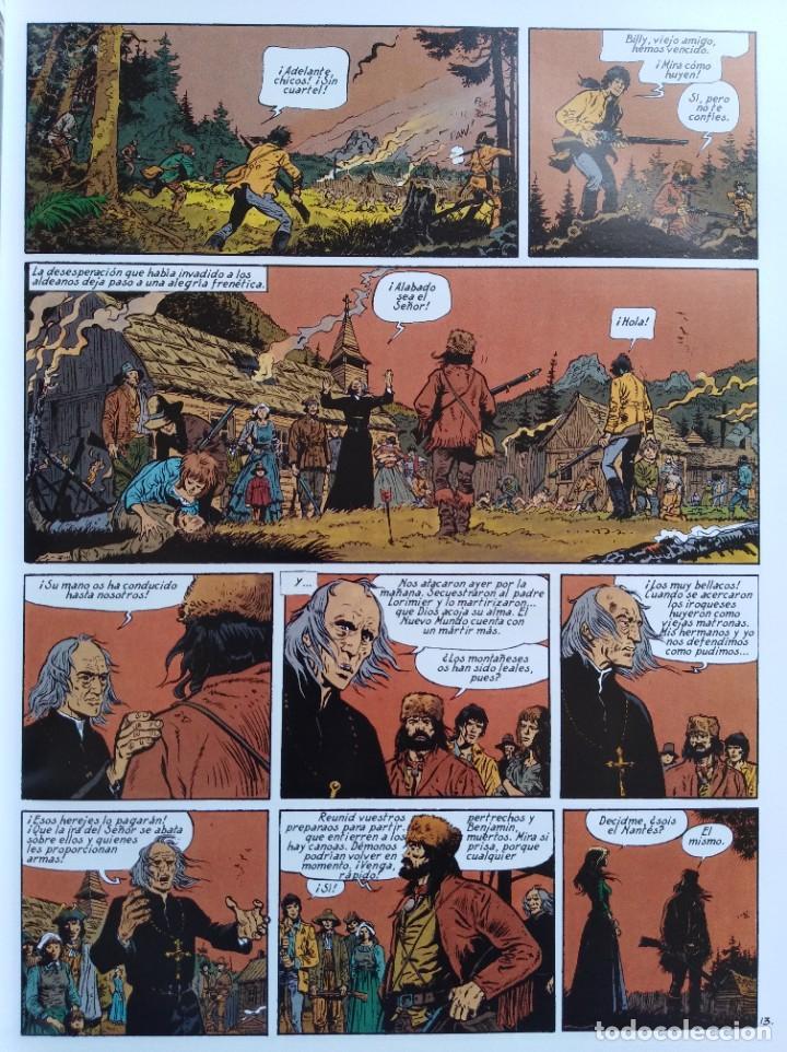 Cómics: PIONEROS DEL NUEVO MUNDO 1-2-3-4-5 COMPLETA. Maryse /Jean-François Charles/Ersel - Foto 13 - 262553370