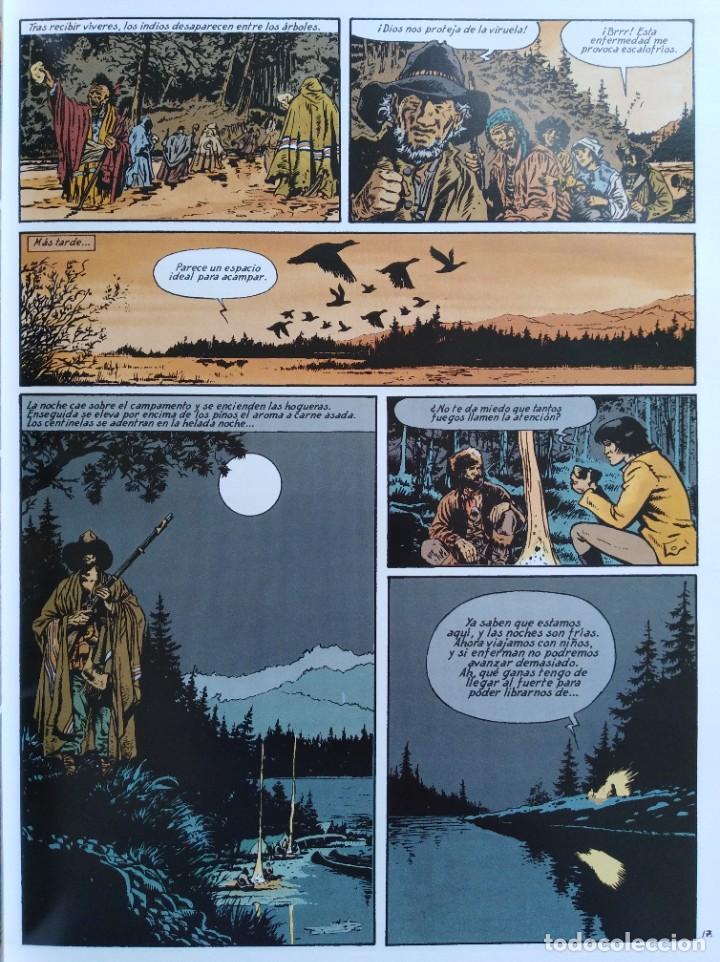 Cómics: PIONEROS DEL NUEVO MUNDO 1-2-3-4-5 COMPLETA. Maryse /Jean-François Charles/Ersel - Foto 14 - 262553370